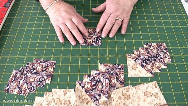 sisters-choice-quilt-block, sewing, craft, quilting