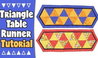 The Triangle Table Runner Tutorial