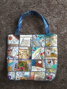 Readers Project: Joe's Crazy Quilt Tote Bag