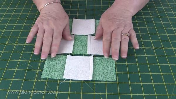 fools-square-quilt block, quilting,sewing,craft