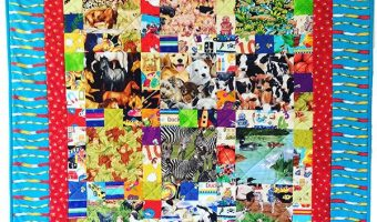 i-see-animals-quilt,craft,sewing