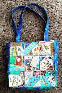 Readers Project: Joe's Super Cute Moda Charm Square Tote Bag