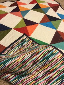 Readers Project: Mike's Baby Quilt -The Binding Tutorial works!!!