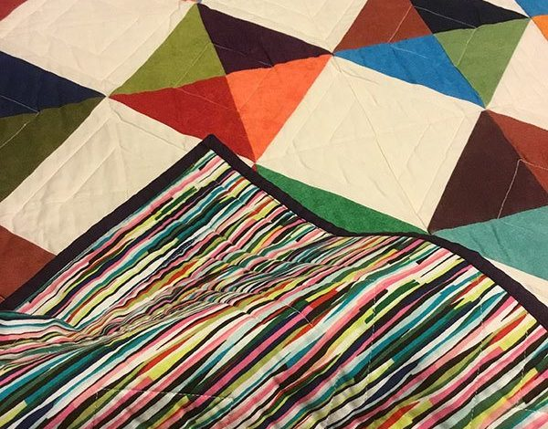 mike's-baby-quilt.quilting,readers project, craft,sewing