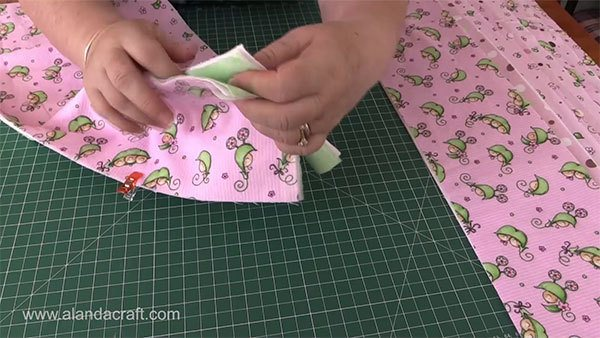 rag-quilt-strip,quilting tutorial, quilting, craft,sewing