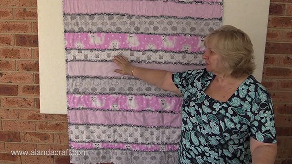 rag-quilt-strips,quilting,quilting tutorial, craft,sewing