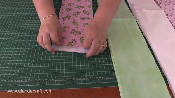 rag-quilt-strips,quilting tutorial, quilting, craft,sewing