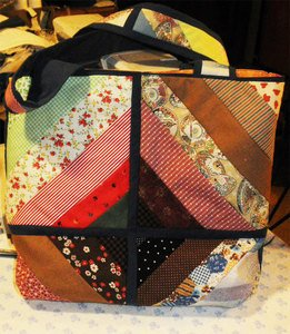 Readers Project: Sue's Left Overs Tote Bag