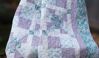 snuggle-blossom-crib-quilt, quilting, craft, sewing