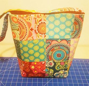 Readers Project: Gabrielle's Charm Square Bag