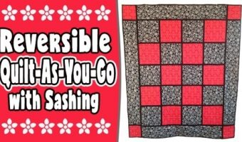 qayg-quilt-with sashing, quilting, craft, sewin, quilt-as-you-go, www.alandacraft.com
