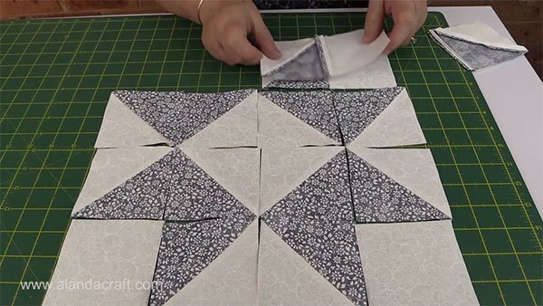 ribbon-star-quilt-block,craft,quilting,sewing