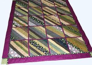 Strip/String Quilt for My Grandaughter Ce'Nedra