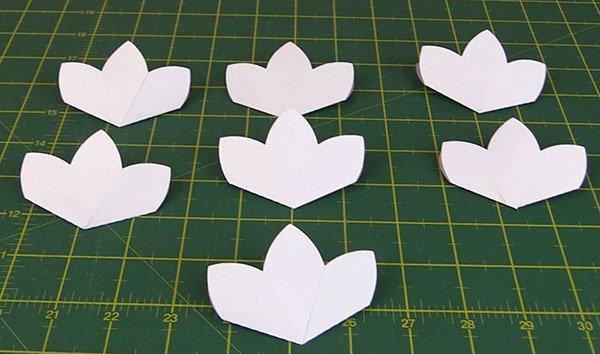blooming pop up flower card tutorial, brother scan n cut