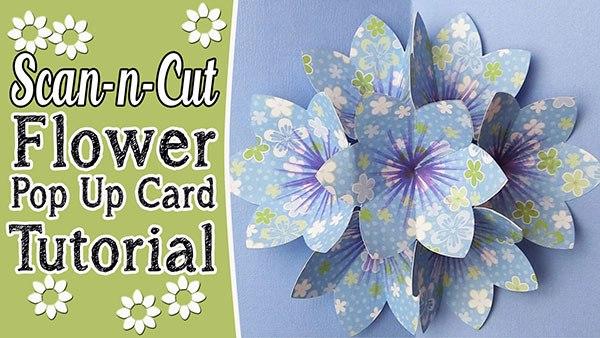 How To Make a CARNATION POP-UP CARD (origami) 立體康乃馨母親節卡片 ... | 338x600