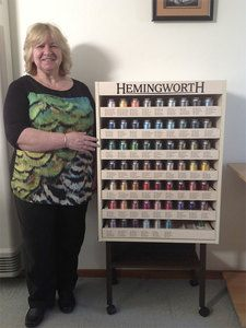 Our New Hemingworth Embroidery Spool Thread Cabinet Has Arrived (Review)