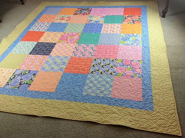 quilting,craft,sewing,layer cake quilt