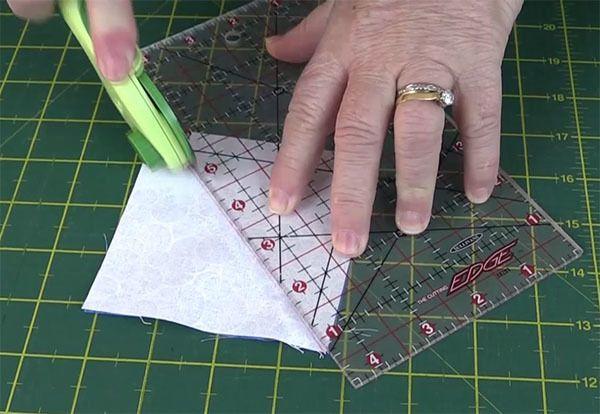 mosaic pinwheel block, tutorial, quilting blocks,