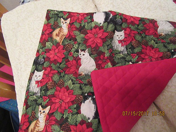 cat quilt, quilting, craft,sewing,