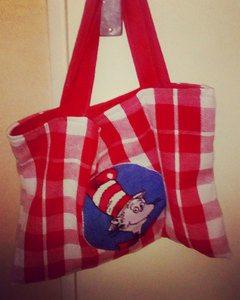 tea-towel-tote-bag. quilting, bag, craft, sewing