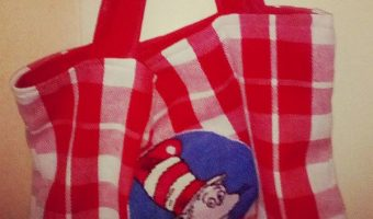 Readers Project: Marieke's Cat in the Hat Tea Towel Bag