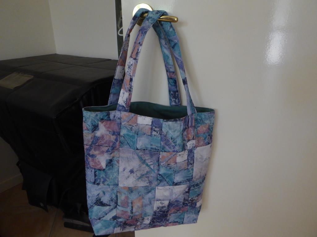 Readers Project: Maria's Boomerang Bag –  Charm Square Tote Bag