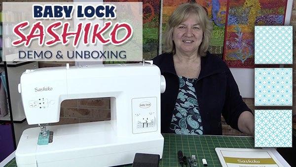 Baby Lock Sashiko Machine