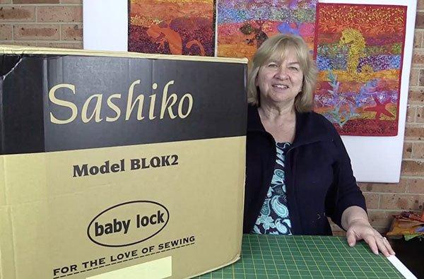Baby Lock Sashiko Machine Unboxing