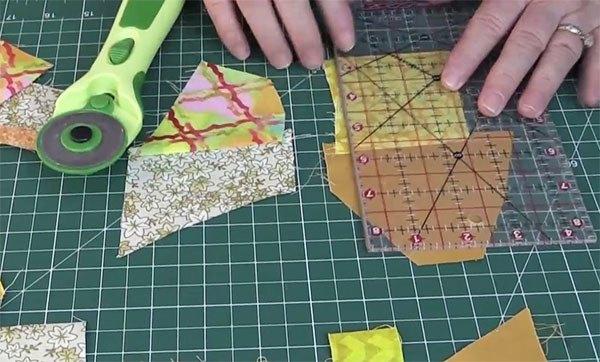 crumb quilt tutorial