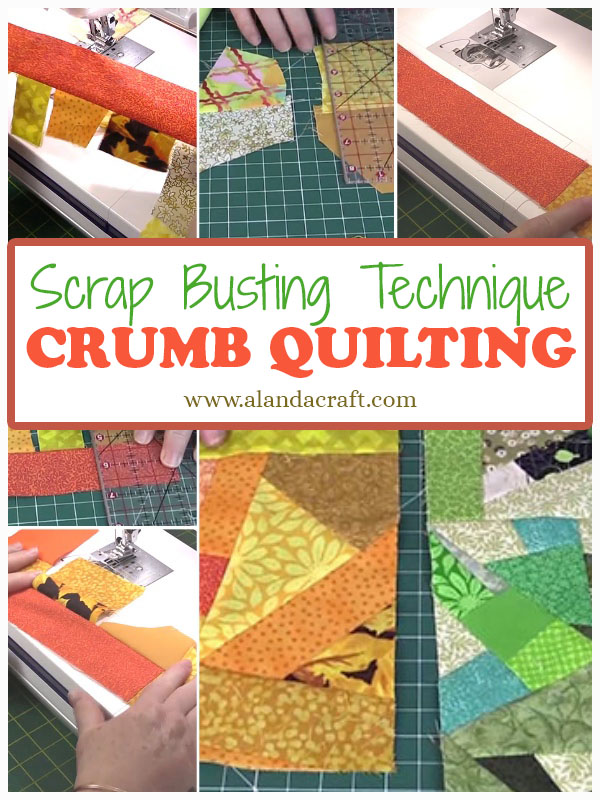 Crumb Quilt Technique Tutorial Crumb Quilting Alanda Craft