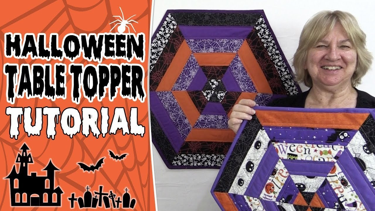 EASY Halloween Table Topper Tutorial – Step-by-Step
