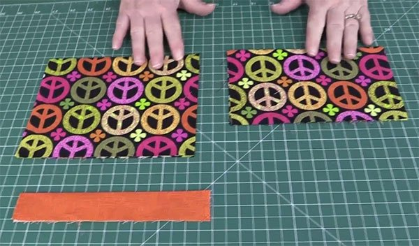 super easy zippered pouch tutorial
