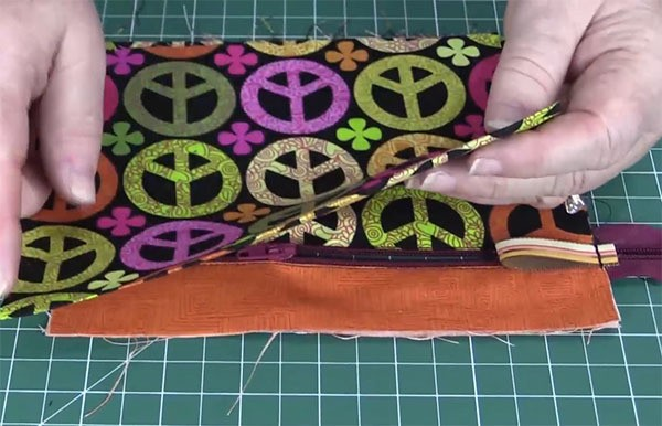 zippered purse tutorial