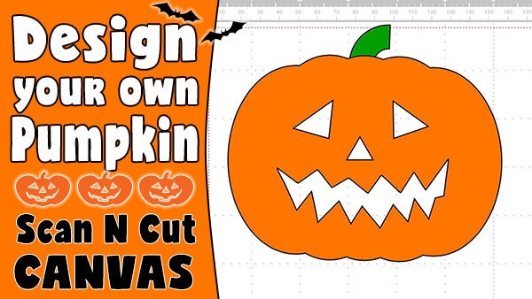 halloween, scanncut, scanncut canvas, tutorial