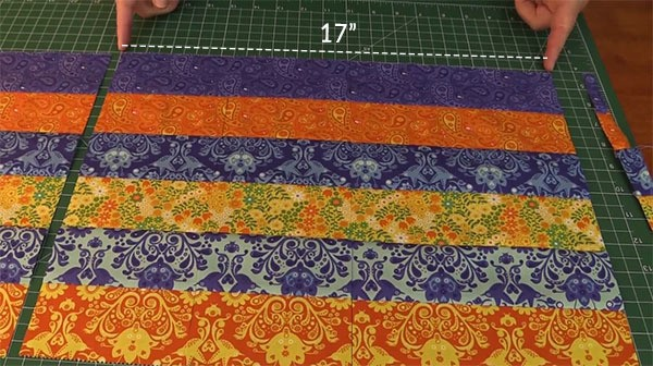 simple placemat tutorial quilted