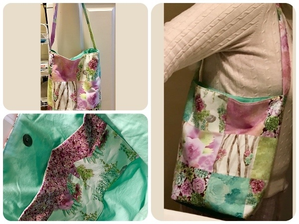 Readers Project: Jamie's Charm Square Tote Bag