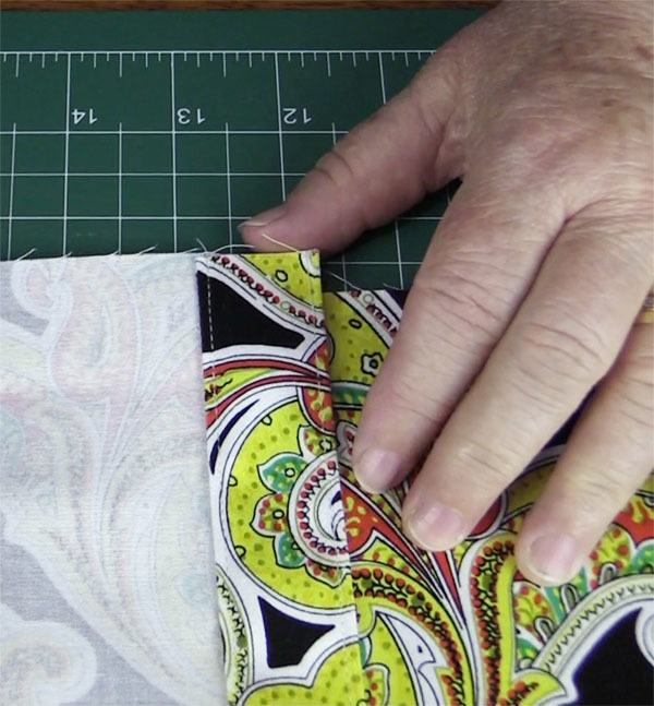 envelope cushion cover tutorial