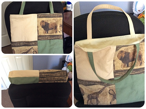 Readers Project: LisaMarie's African Animals Tote Bag
