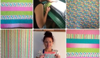 Easiest Quilt Ever – Let's Get Quilting with the Adorable Ayla