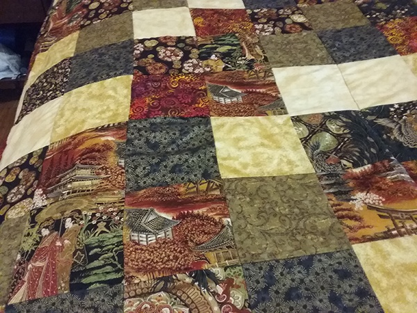 Readers Project: Joan's Charm Square Quilt