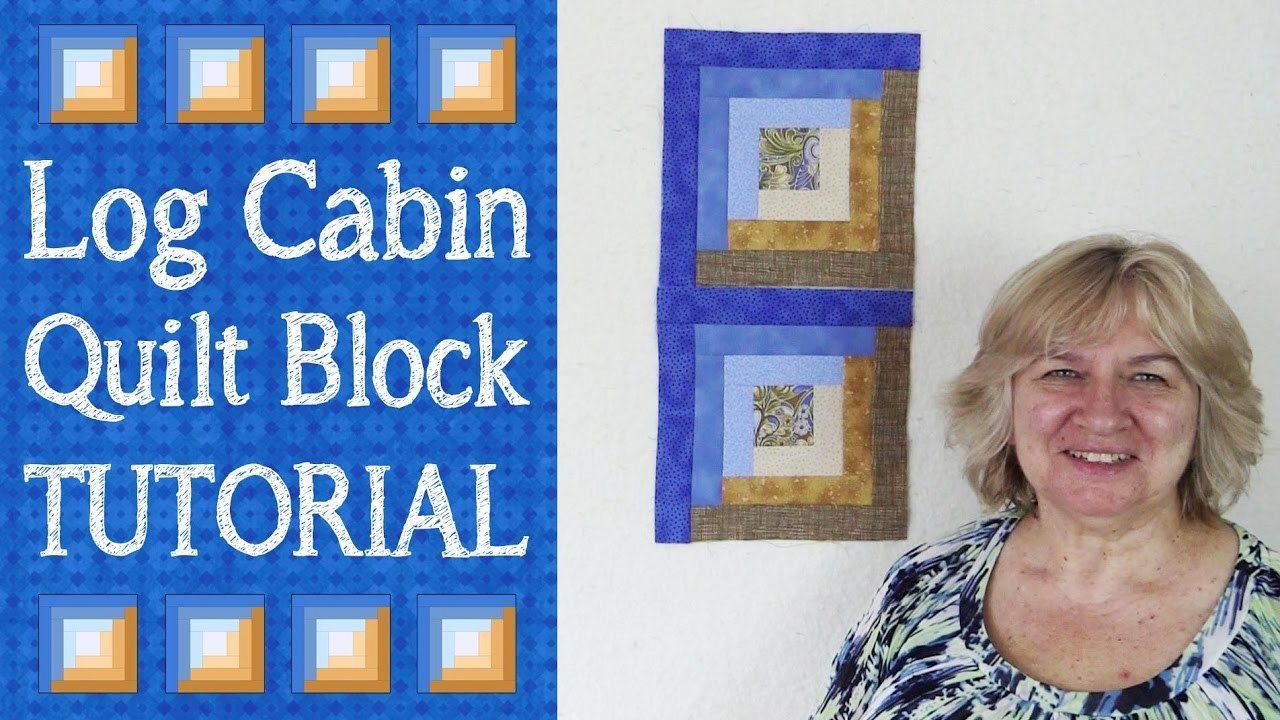 Quilt Block: Log Cabin Quilt Block Tutorial