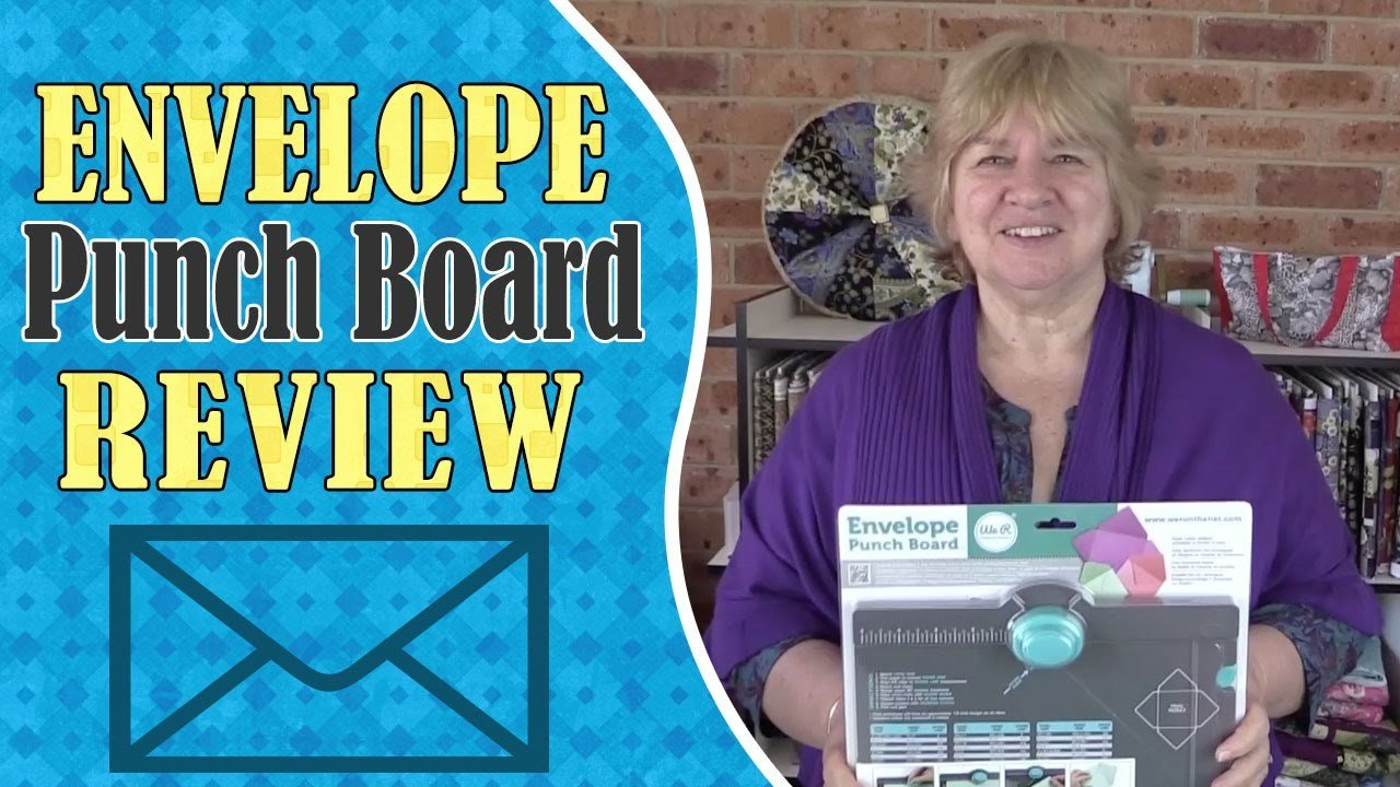 We R Memory Keepers Envelope Punch Board Review