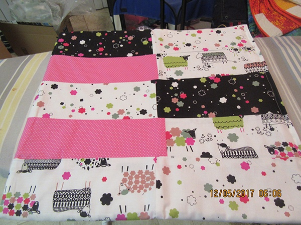 kitty quilt, craft, sewing, quilting