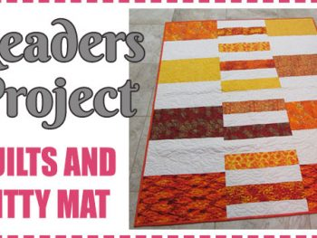 Readers Project: Barbara's Quilts & Kitty Mats