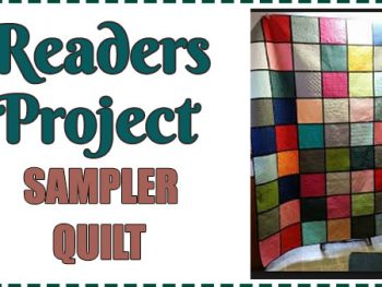 Readers Project – Sampler Quilt from a Full Time Working Grandma