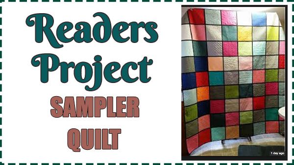 Readers Project – Full Time Working Grandma and Novice Quilter