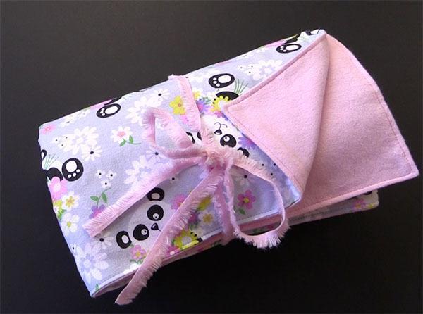 easy minky baby blanket tutorial