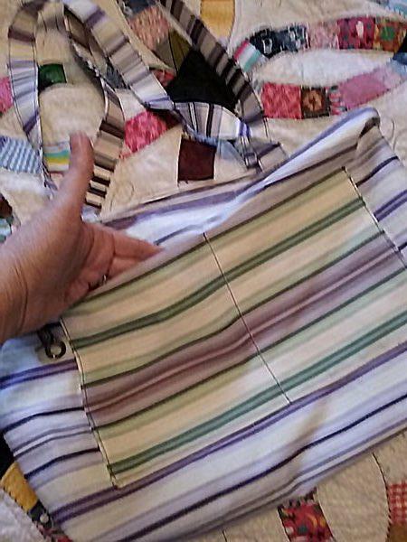 canvas tote bag, tea towel bag, craft, sewing , tea towel tote bag