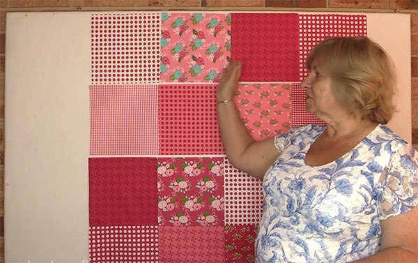 layer cake baby quilt tutorial