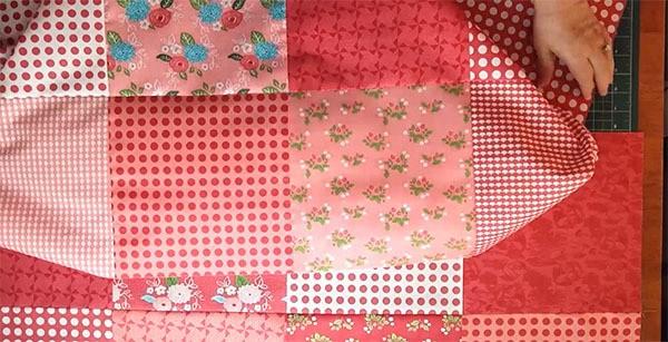 quick quilt baby quilt tutorial